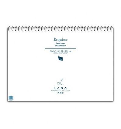 Blocco Schizzi Esquisse A2 96 g/m2 Lana