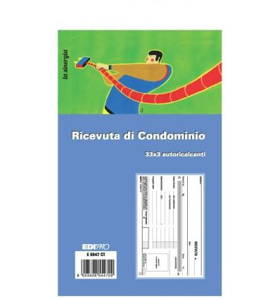 Ricevute di Condominio in Triplice Copia E 5547 CT EdiPro