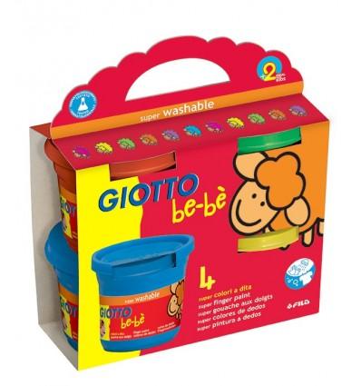 Super Colori a Dita Giotto be-be