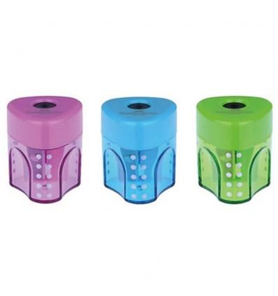 Temperamatite ad un foro Grip Mini Faber-Castell