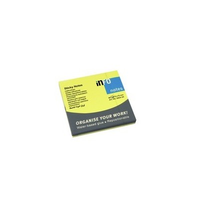 Blocco Fogli Adesivi Gialli Sticky Notes Brilliant 5654-34 Info Notes