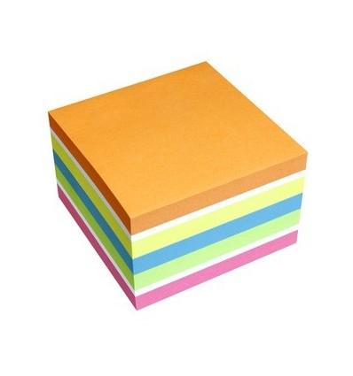 Blocco Fogli Adesivi assortiti Sticky Notes Cube 5654-53 Info Notes