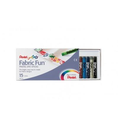 Pastelli per Tessuto Fabric Fun Pentel Arts