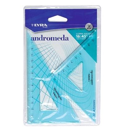 Coppia di Squadre Andromeda 16 cm/ 45 gradi- 60 gradi