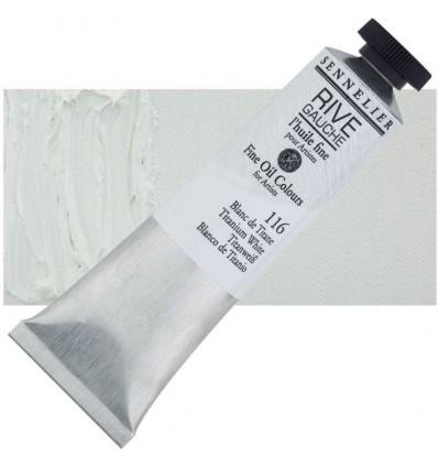 Sennelier Rive Gauche Artist Oil Paint Blanc de Titane