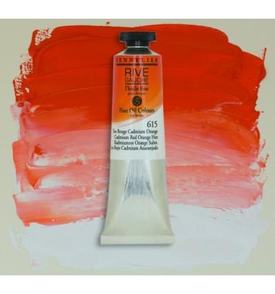 Sennelier Rive Gauche Artist Oil Paint Ton Rouge Cadmium Orange