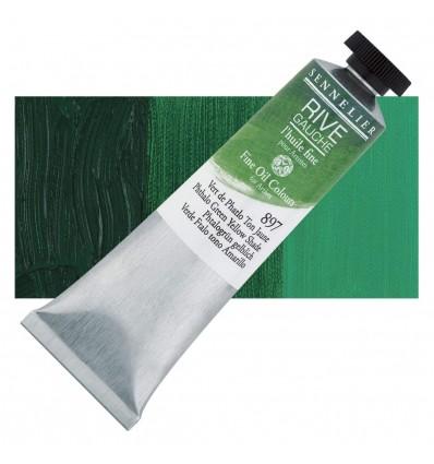 Sennelier Rive Gauche Artist Oil Paint Vert de Phatlo  Ton Jaune