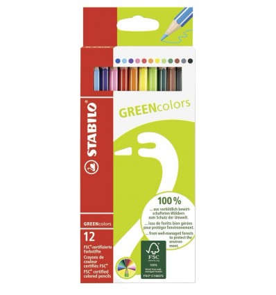 Pastelli Green Colors Stabilo