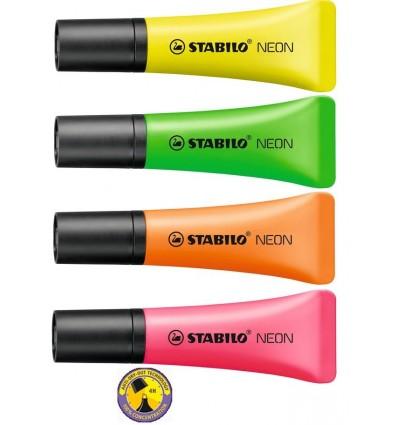 Evidenziatore Neon Stabilo