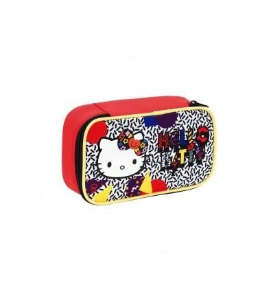 Astuccio colori completo 3 Zip Hello Kitty Goggly Seven