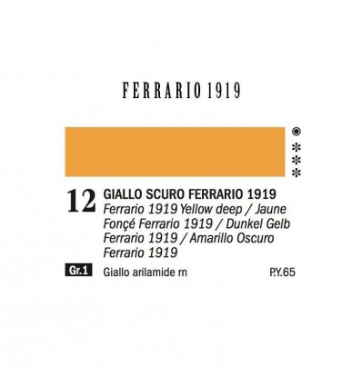 Ferrario 1919 Colori ad Olio Extrafini Ferrario