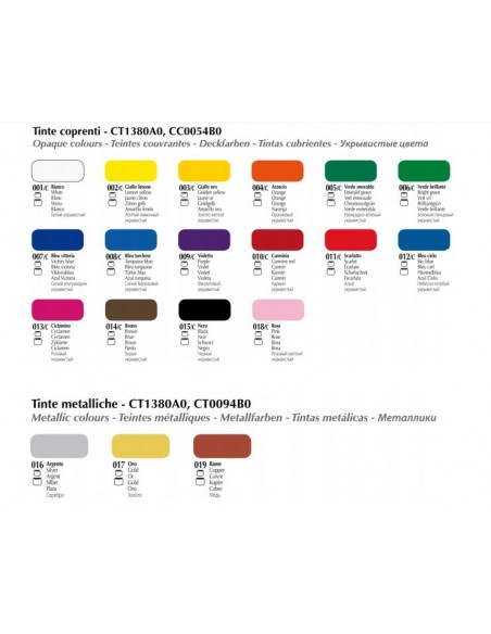 Colori per Tessuto Coprenti Tex Color Esprimo