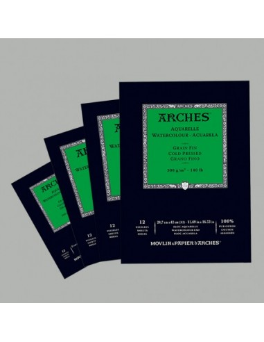 Blocco Acquerello A4 Grana Fine Arches