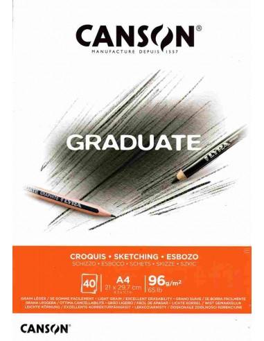 Blocco A4 Graduate Croquis Canson®