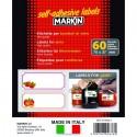 Etichette Permanenti Bianche per Conserve Markin
