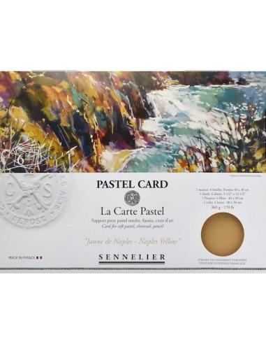"Pastel Card ""La Carte Pastel - Jaune..."