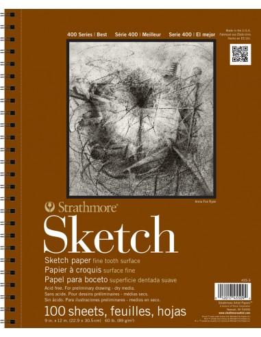Blocco Schizzi A4 Serie 400 Sketch -...