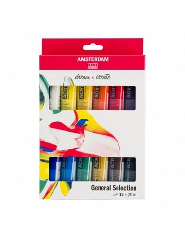 Amsterdam Set Colori Acrilici Serie...