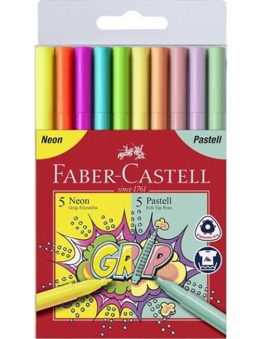 Pennarelli Grip Colour pennarelli 5 +...
