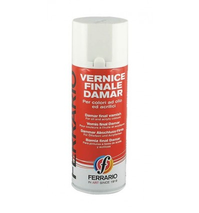 Vernice Finale Damar Lucida a Spray 400 ml Ferrario