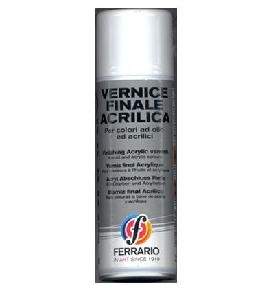 Vernice Finale Acrilica a Spray 400 ml Ferrario