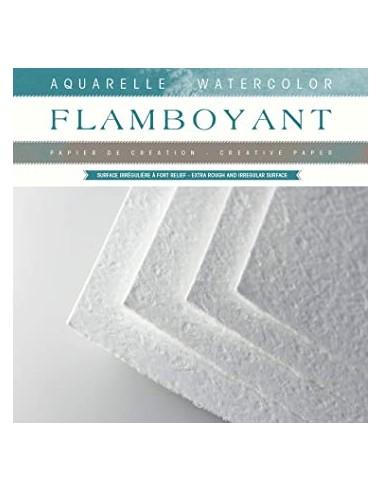 Flamboyant Fogli per Acquerello 56x76...
