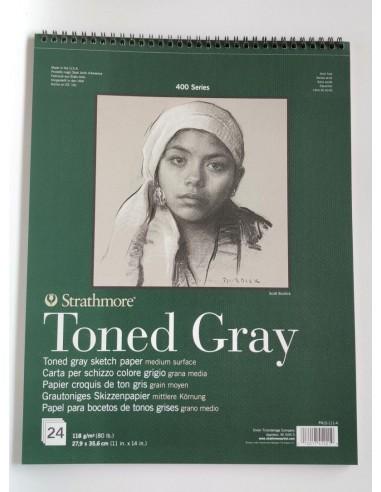 Blocco Spirale Toned Grey Colore...