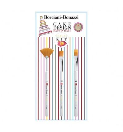 Set Pennelli Nature per Cake Design Borciani & Bonazzi