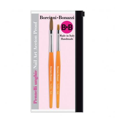 Set Pennelli n1 per Nail Art Borciani & Bonazzi