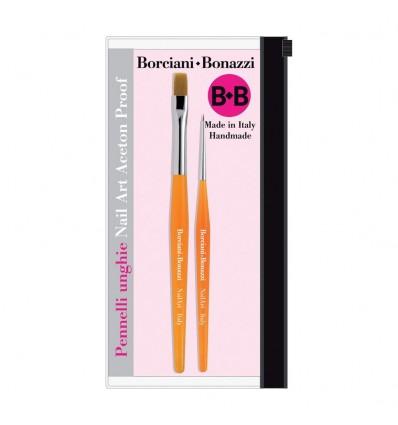 Set Pennelli n2 per Nail Art Borciani & Bonazzi