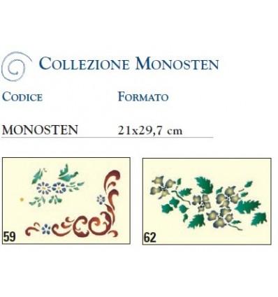 Mascherine per Stencil Collezione Monosten Ferrario