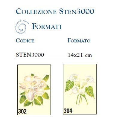 Mascherine per Stencil Collezione Sten3000 Ferrario
