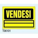 "Targa Segnaletica Maxi ""Vendesi"" T06101 Letterfix"