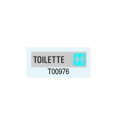 """Targa Adesiva """"Toilette"""" T00976 Letterfix"""