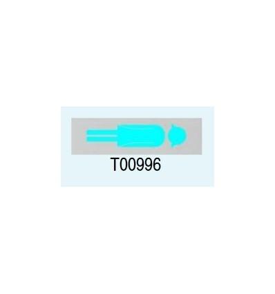 """Targa Adesiva """"Donna"""" T00996 Letterfix"""