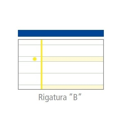 """Quaderno MaxiDidattico Rigatura """"B"""" Tecnoteam"""
