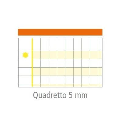 """Quaderno MaxiDidattico """"Quadretto 5 mm"""" Tecnoteam"""