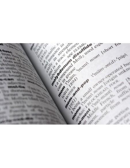 Dizionario di Lingua Inglese